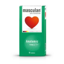 Masculan 4 óvszer anatomic 10db-os