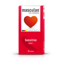 Masculan 1 óvszer sensitive 10db-os