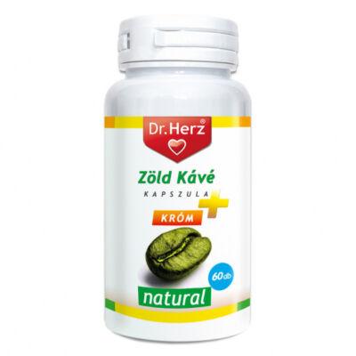 DR Herz Zöld Kávé + Króm + C-Vitamin kapszula 60db
